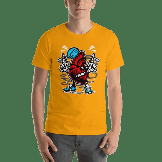 Heart To Kill Short Sleeve Unisex T-Shirt