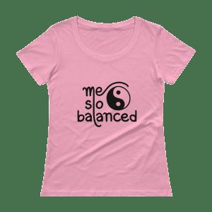Ladies' Me So Balanced Scoopneck T-Shirt