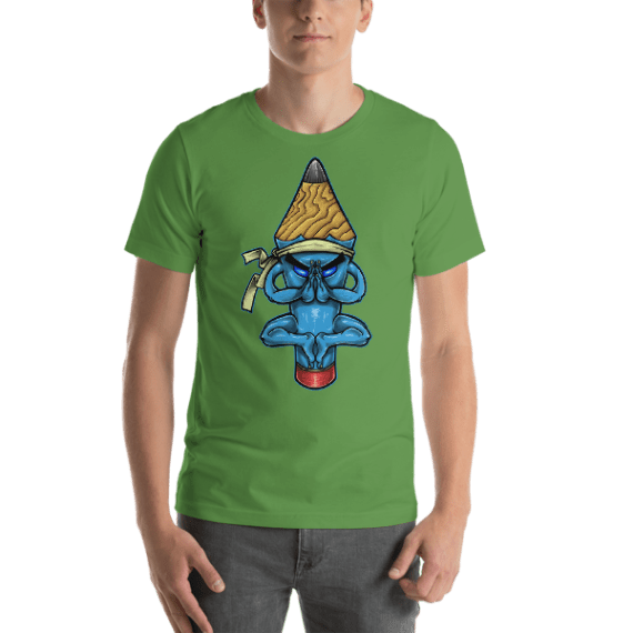 Pencil Monk Short Sleeve Unisex T-Shirt