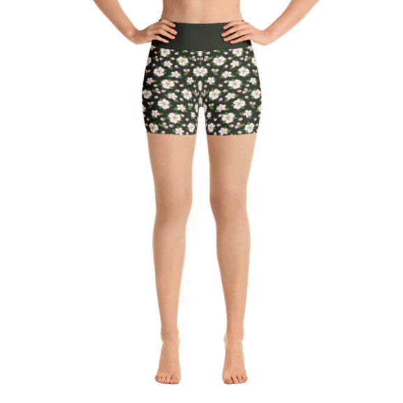 0432956ac546ad Brown Army Camo Yoga Short Pants with a Small Inner Pocket ⋆ What ...