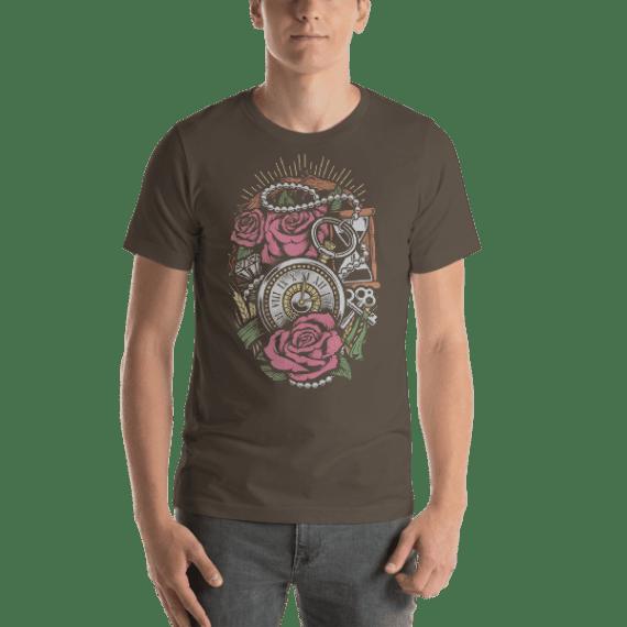Precious Time Short Sleeve Unisex T-Shirt