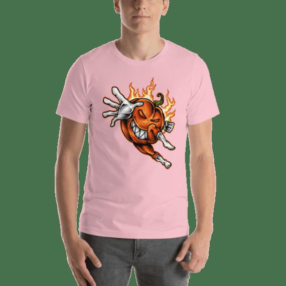 Pumpkin Hero Short Sleeve Unisex T-Shirt