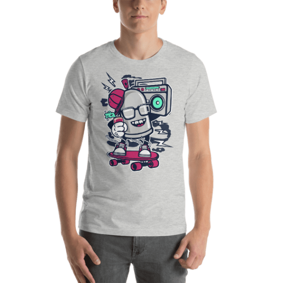 Street Bomber Short Sleeve Unisex T-Shirt