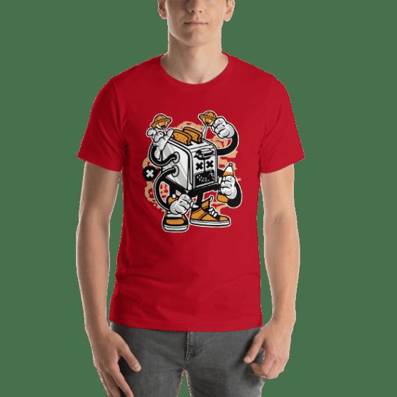 Toaster Monster Short-Sleeve Unisex T-Shirt
