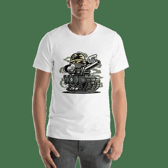 War Tank Short Sleeve Unisex T-Shirt