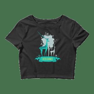 Women's Deer Dance Crop Top