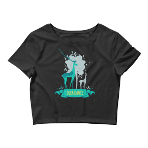 Women's Deer Dance Crop Top