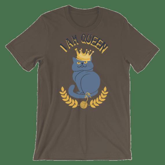 Women's I Am Queen Short Sleeve T-Shirt
