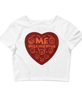 Women's Me Mischievous Crop Top