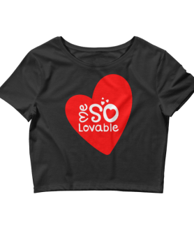 Women's Me So Lovable Crop Top