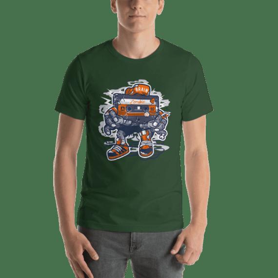 Zombie Cassette Short Sleeve Unisex T-Shirt