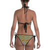 Colorful Rainbow Spinning Reversible Bikini - Ladies' Beachwear Bathing Suit