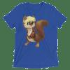 Cute Squirrel TShirt, Cute Animal T shirt, Funny squirrel Short sleeve t-shirt