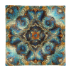 Decorative Mosaic Mandala Square Pillow Case only