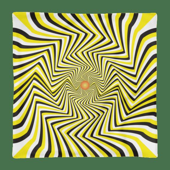 False Movement Illusion Square Pillow Case only