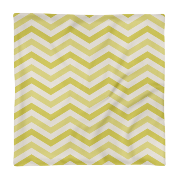 Geometric Chevron Waves Square Pillow Case only