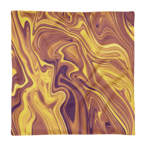 Liquid Gold Square Pillow Case only