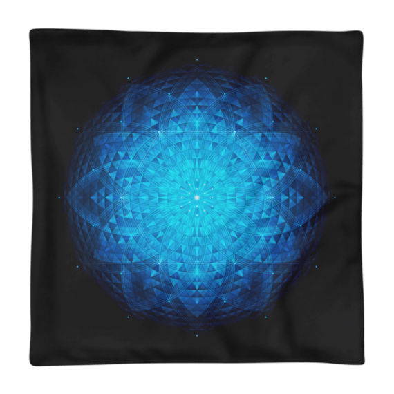 Sacred Geometry, Flower Of Life Square Pillow Case only