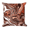 Yummy Chocolate Texture Square Pillow