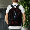 Ghost Bloody Attack Backpack