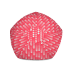 Love Hearts on Hot Pink Background Bean Bag Chair With Filling