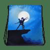 Romantic Couple Dance Drawstring bag