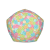 Sweet Multicolored Candies Bean Bag Chair With Filling