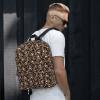 Unisex Horror Skull & Bones Backpack
