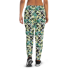 Women's Absolute Flowers Love Running Joggers with Pockets - (XS-3XL) Relaxed Fi