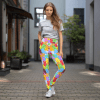Women's Colorful Gummy Bears Yoga Leggings - Ultra Soft High Waist Funny Tights