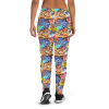 Women's Colorful Street Art Graffiti Joggers with Pockets, (XS-3XL) Relaxed Fit
