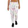 Women's Cute Flowers and Butterflies Joggers with Pockets, (XS-3XL) Relaxed Fit
