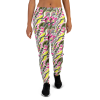 Women's Incredible Colorful Funky Psychedelic Workout Jogger Pants with Pockets