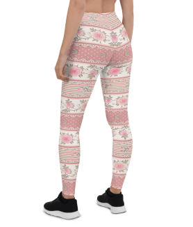 Best Pink Floral Leggings - Hottest Floral Yoga Pants for Everyday Wear