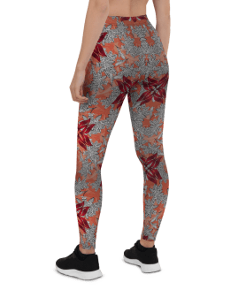 Cute Mila Fashion Leggings - Colorful Mila Yoga Pants