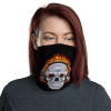 New Music Lover Skull Protective Face Mask, Bandanna, Scarf, Neck Gaiter, Headwear, Headband Hair Cover, Mouth Cover, Nose Cover, Scarves