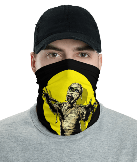 New Walking Dead Mummy Zombie Face Mask, Bandanna, Scarf, Neck Gaiter, Headwear, Headband Hair Cover, Mouth Cover, Nose Cover, Scarves