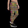 Shake It Off Yoga Pants - Colorful Shake it Out Pants, Shake Your Pants Leggings