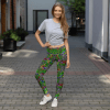Unique Lifestyle Booty Lifting Flowers Leggings – Stylish Look Workout Leggings