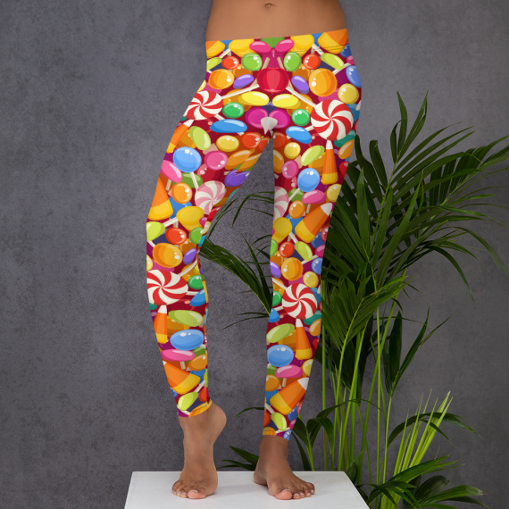 You're so Delicious Leggings, Yummy Candy Leggings, Sweetness Of My Life Legging