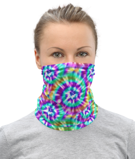 Cute Tie Dye Face Mask