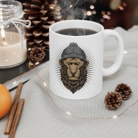 Cool Lion Mug 11oz
