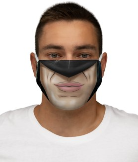 Batman the Dark Knight Face Mask, Washable BatMan Cloth Cover