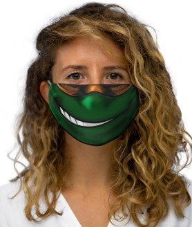 Ninja Turtle Face Mask, Funny Cartoon Mouth Cover