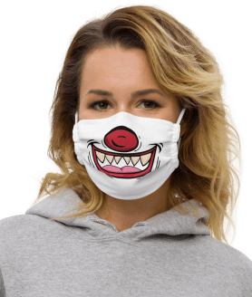 Funny Halloween Face mask, Reusable and Washable Mouth Masks