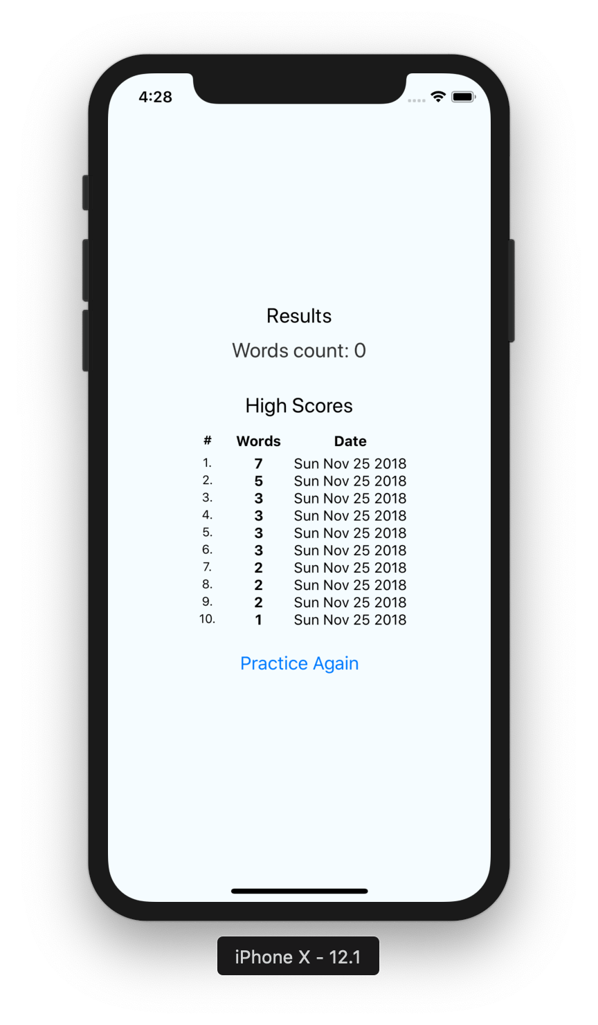 Local data persistence in React Native using AsyncStorage