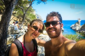 Hiking along the coast of Marseilles (France)