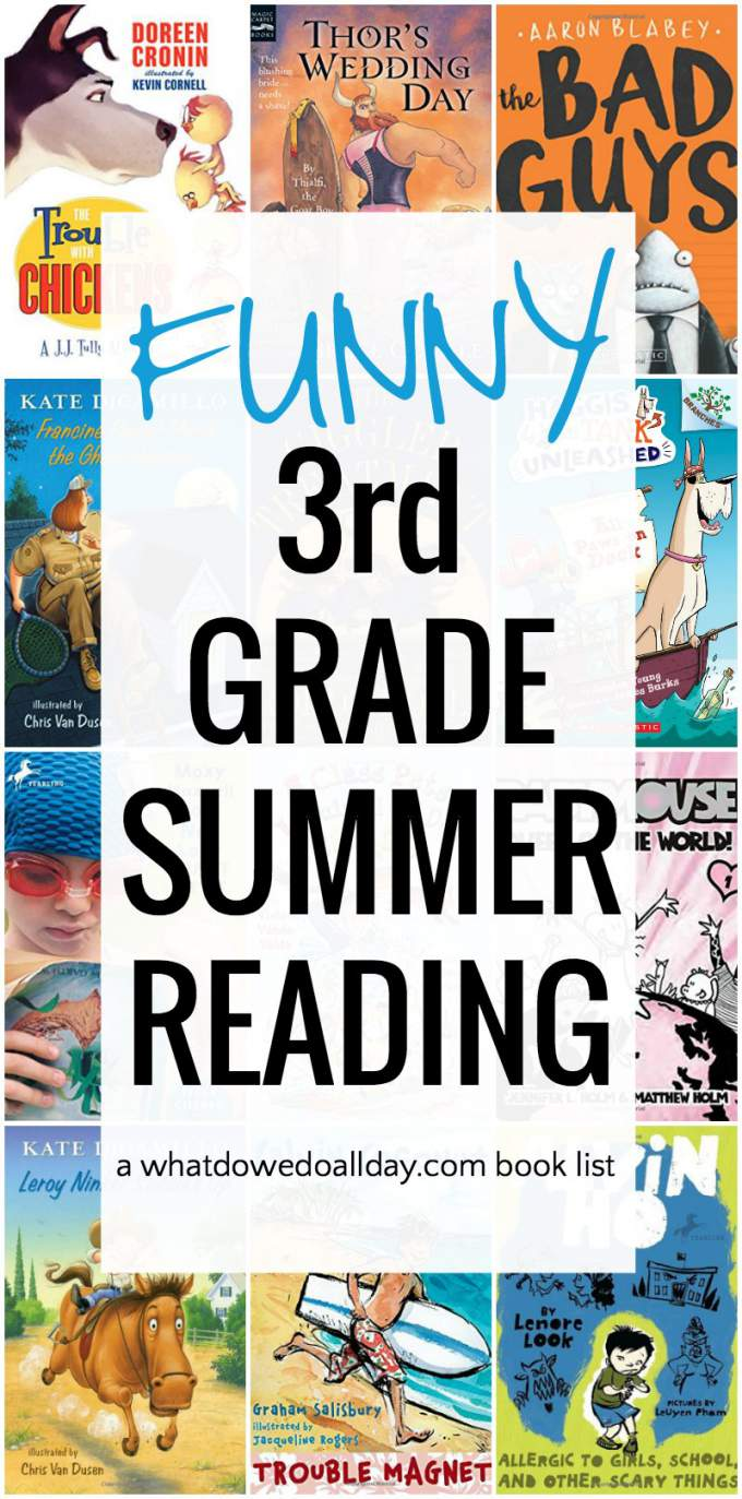 Funny 3rd Grade Books The Perfect Summer Reading List