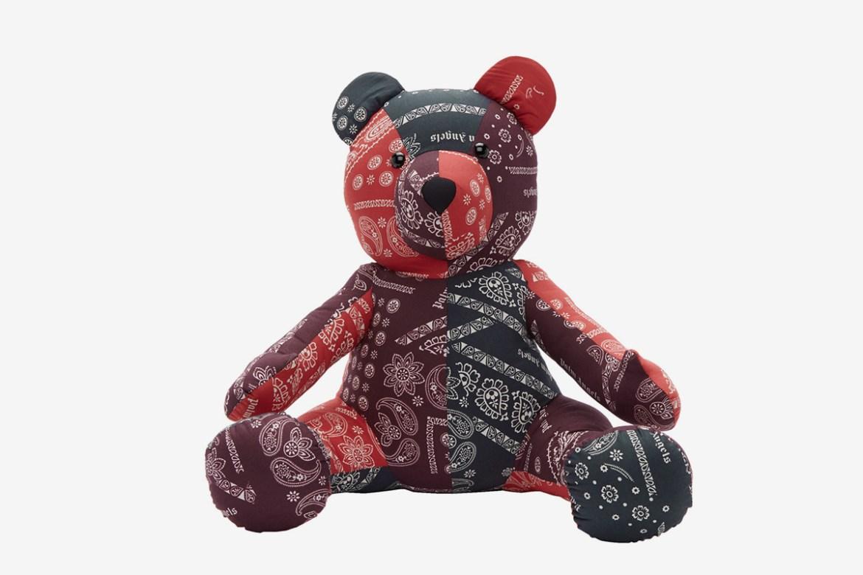 Multicolor Bear Puppet