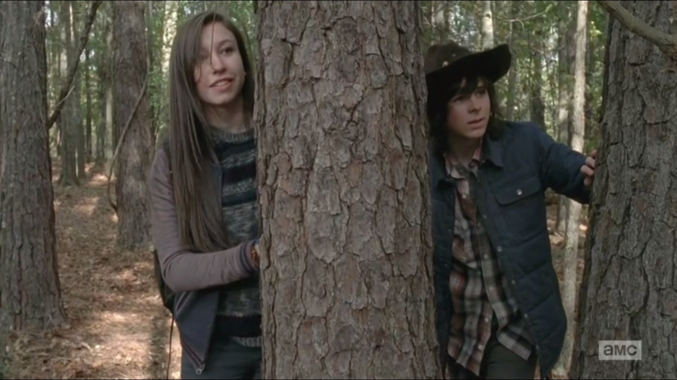 I Run Like A Girl Try To Keep Up Wallpaper A Look At The Walking Dead Season 5 Episode 15 Try